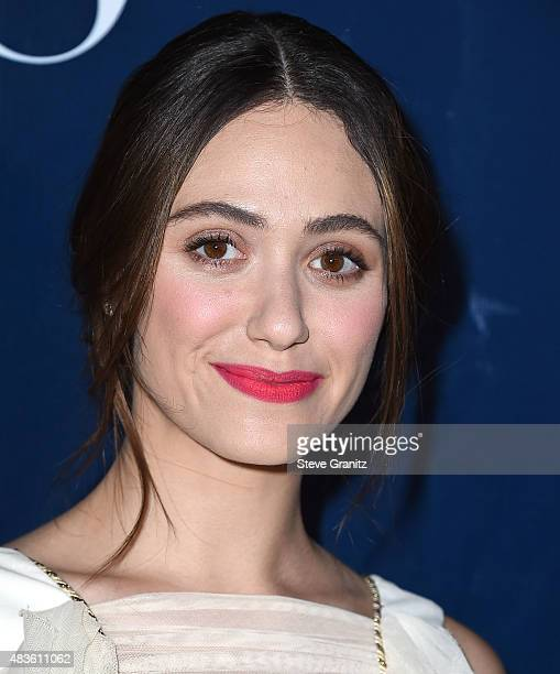 Emmy Rossum arrives at the CBS CW And Showtime 2015 Summer TCA Party at Pacific Design Center on August 10 2015 in West Hollywood California
