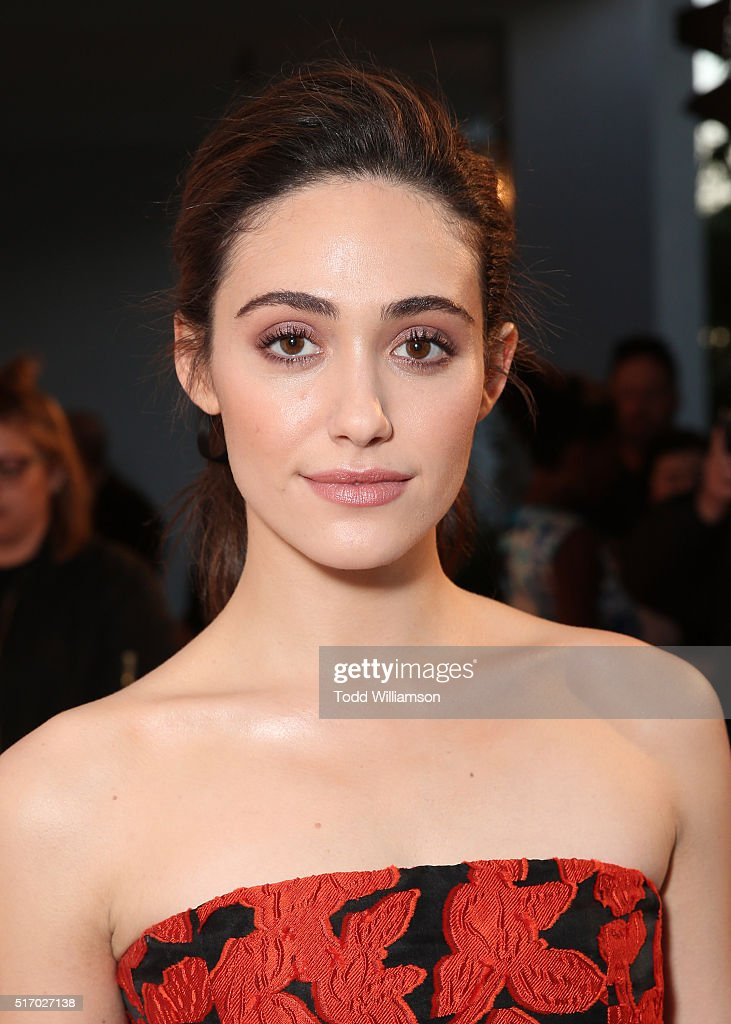 Emmy Rossum attends a screening and panel discussion with The Women Of Showtime's 'Shameless' at The London Hotel on March 22, 2016 in West Hollywood, California.