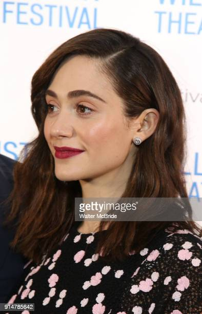Emmy Rossum attends the 2018 Williamstown Theatre Festival Gala at the Tao Downtown on February 5 2018 in New York City