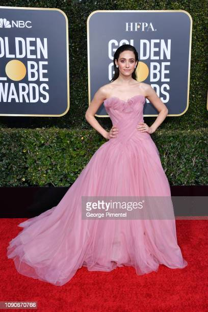 Emmy Rossum attends the 76th Annual Golden Globe Awards held at The Beverly Hilton Hotel on January 06 2019 in Beverly Hills California