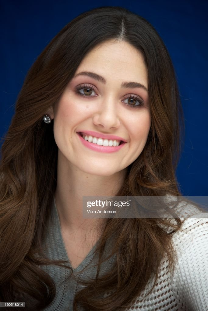 Emmy Rossum attends the 'Beautiful Creatures' Press Conference at the SLS Hotel on February 1, 2013 in Beverly Hills, California.