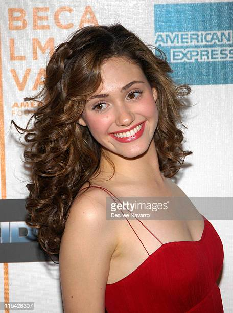 Emmy Rossum during 5th Annual Tribeca Film Festival Gala Screening of Poseidon at The Tribeca Performing Arts Center in New York City New York United...