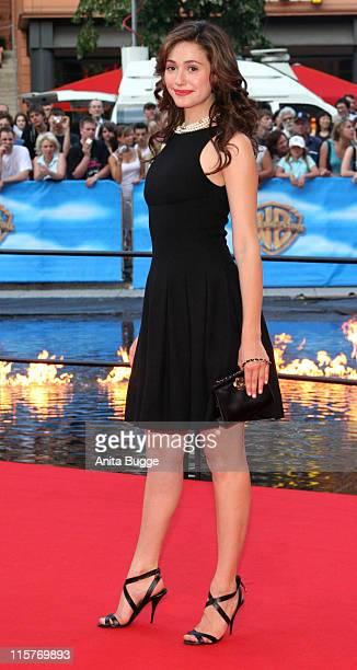 Emmy Rossum During Poseidon Germany Premiere Arrivals In Berlin Berlin Germany