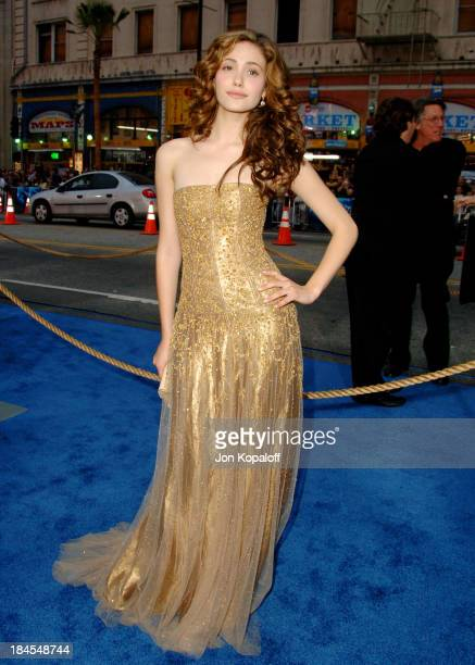 """Emmy Rossum during """"Poseidon"""" Los Angeles Premiere - Arrivals at GraumanIs Chinese Theater in Hollywood, California, United States."""