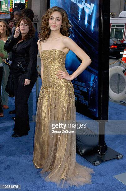 Emmy Rossum during 'Poseidon' Los Angeles Premiere Arrivals at Grauman's Chinese Theatre in Hollywood California United States