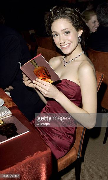 Emmy Rossum during The 77th Annual Academy Awards Governors Ball at Kodak Theatre in Hollywood California United States