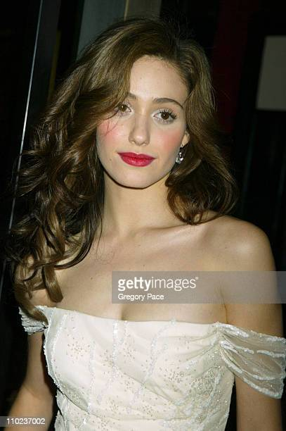 Emmy Rossum during 'The Phantom of the Opera' New York Premiere Inside Arrivals at Ziegfield Theater in New York City New York United States