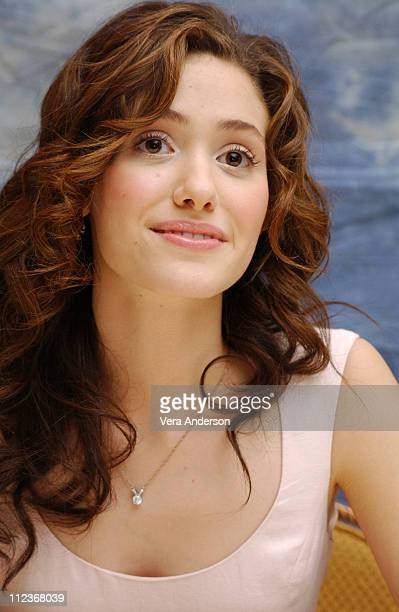 Emmy Rossum during 'The Phantom of the Opera' Press Conference with Emmy Rossum Gerard Butler Joel Schumacher Minnie Driver and Patrick Wilson at...