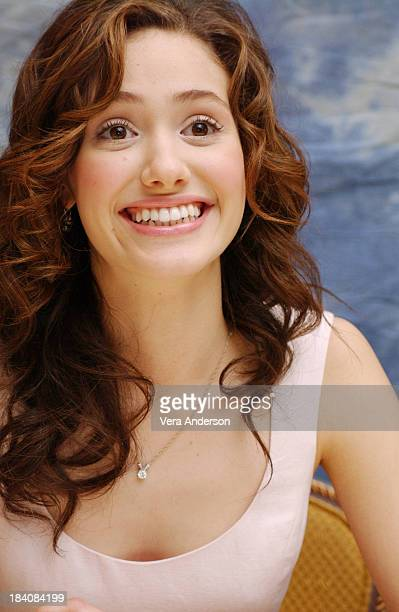 Emmy Rossum during The Phantom of the Opera Press Conference with Emmy Rossum Gerard Butler Joel Schumacher Minnie Driver and Patrick Wilson at Four...