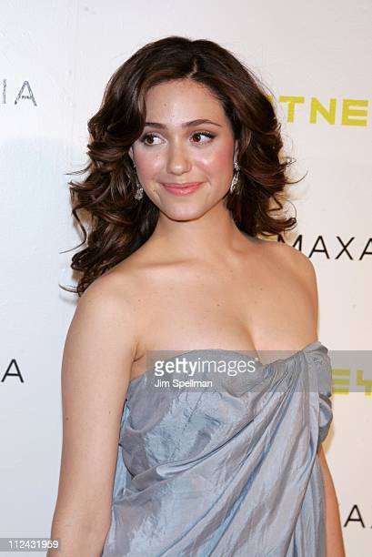 Emmy Rossum during Whitney Contemporaries Hosts ART PARTY Benefiting the Whitney Museum of American Art's Independent Study Program at Skylight in...