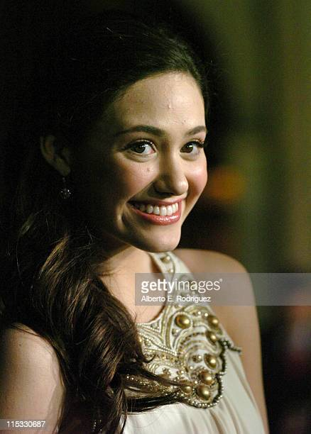 Emmy Rossum during 'Zodiac' Los Angeles Premiere Arrivals at Paramount Studios in Hollywood California United States