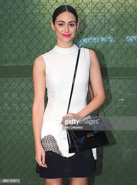 Emmy Rossum is seen in Soho on June 5 2014 in New York City