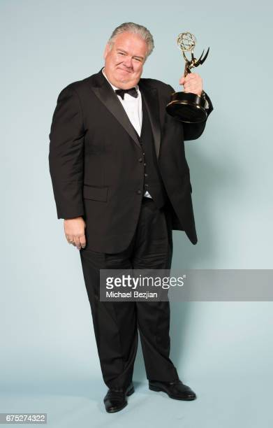 Emmy winner Jim O'Heir for Outstanding Guest Performance in a Drama Series for 'The Bold and the Beautiful' poses for portrait at The 44th Daytime...