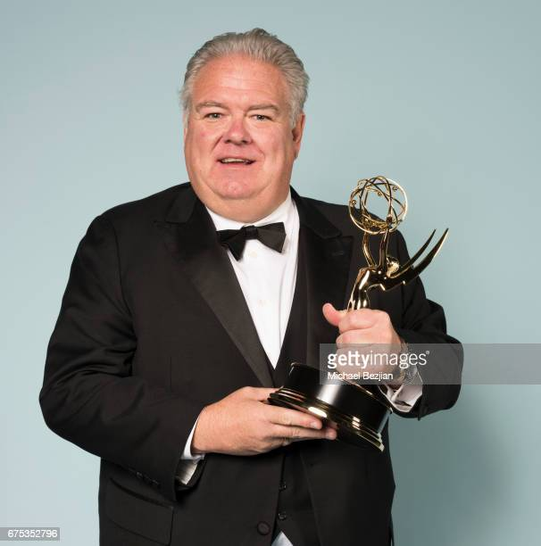 Emmy winner Jim O'Heir for Outstanding Guest Performance in a Drama Series for 'The Bold and the Beautiful poses for portrait at The 44th Daytime...
