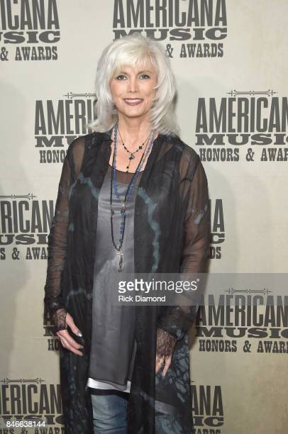Emmylou Harris attends the 2017 Americana Music Association Honors Awards on September 13 2017 in Nashville Tennessee