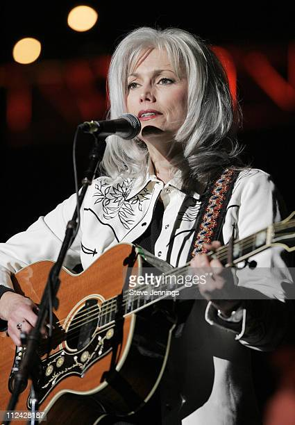 Emmylou Harris during 19th Annual Bridge School Benefit Concert - Day One at Shoreline Amphitheatre in Mountain View, California, United States.