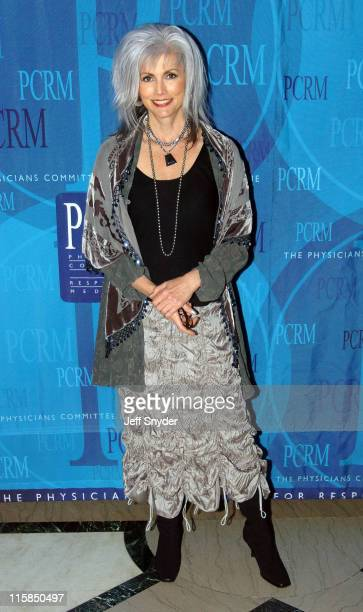 Emmylou Harris during Physicans Committee for Responsible Medicine Gala at Organization of American States in Washington DC United States