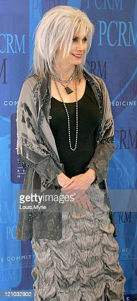 Emmylou Harris during Physicians Committee For Responsible Medicine 20th Anniversary BlackTie Gala at American Organization of States in Washington...