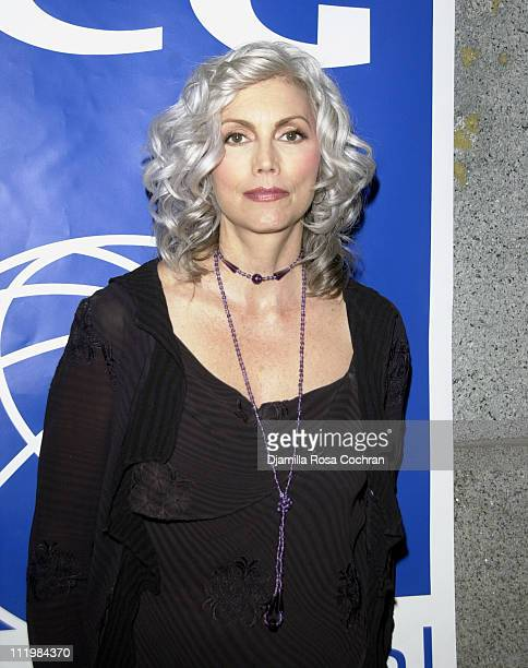 Emmylou Harris during The International Crisis Group 2003 Award at The Regent Wall Street in New York City New York United States