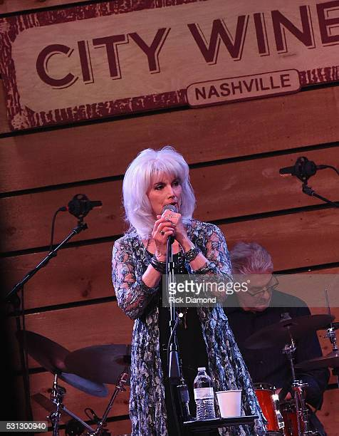 Emmylou Harris Friends A special engagement benefitting Bonaparte's Retreat at City Winery Nashville on May 13 2016 in Nashville Tennessee