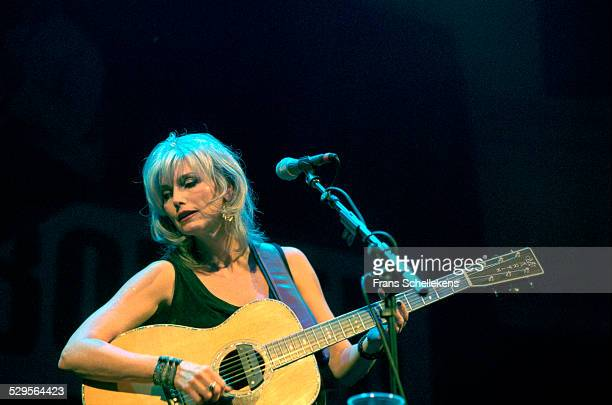 Emmylou Harris guitar and vocals performs at the Paradiso on November 4th 2000 in Amsterdam Netherlands