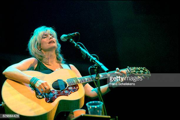 Emmylou Harris, guitar and vocals, performs at the Paradiso on November 4th 2000 in Amsterdam, Netherlands.