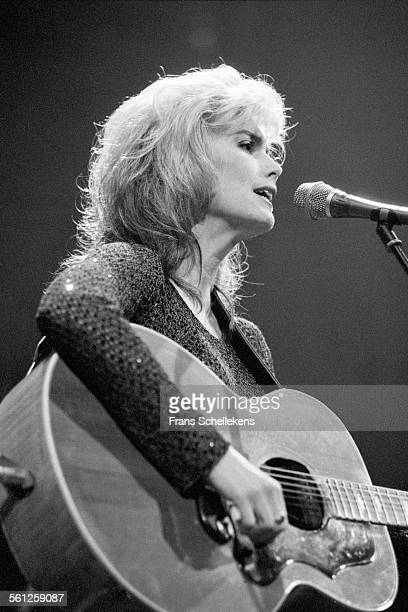 Emmylou Harris guitar and vocals performs on November 18th 1995 at the Paradiso in Amsterdam Netherlands