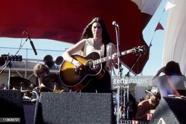 Emmylou Harris performing at Hughes Stadium in Sacramento California on August 2 1980