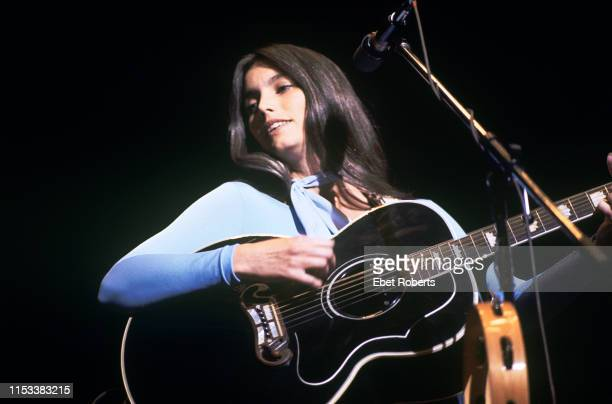 Emmylou Harris performing at Tanglewood in Lenox MA on September 4,1977.