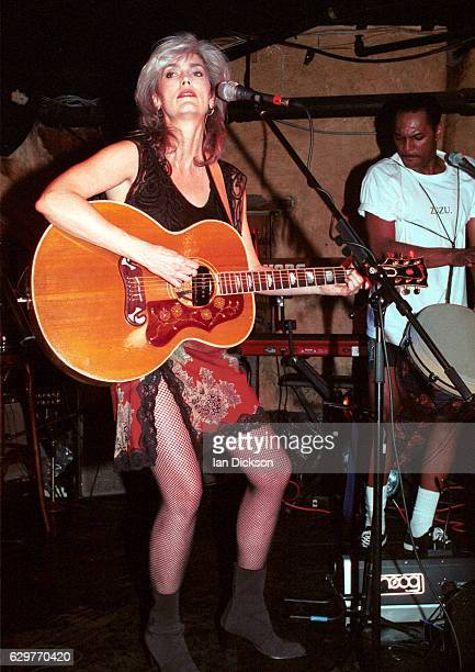 Emmylou Harris performing on stage at The Borderline London 07 June 1996