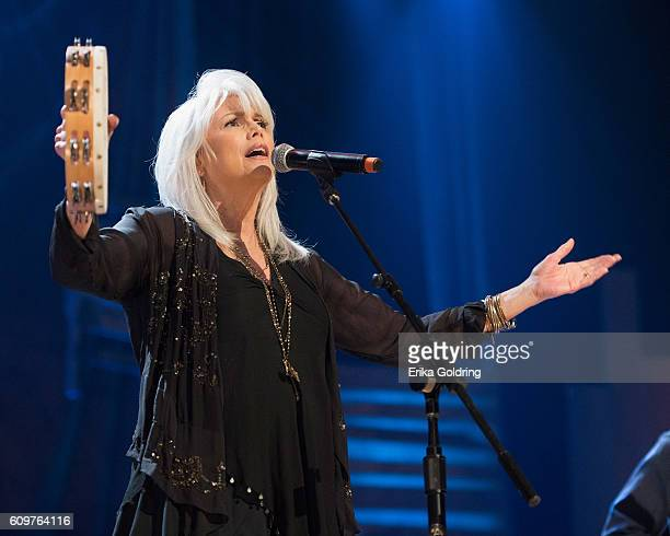 Emmylou Harris performs at Ryman Auditorium on September 21 2016 in Nashville Tennessee