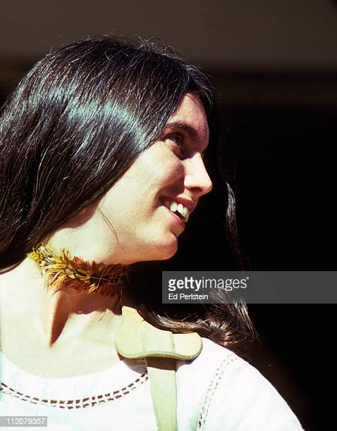Emmylou Harris performs in August 1975 with the Hot Band at the Napa County Fairgrounds in Napa California