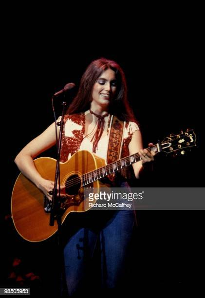Emmylou Harris performs live at The San Francisco Civic Auditorium 1979 in San Francisco, California.