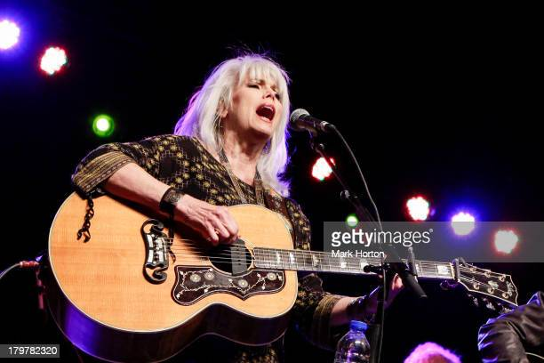 Emmylou Harris performs on Day 3 of the 2013 Ottawa Folkfest at Hogs Back Park on September 6, 2013 in Ottawa, Canada.