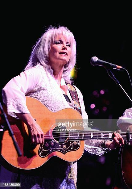Emmylou Harris performs on stage at Hammersmith Apollo on May 9, 2013 in London, England.
