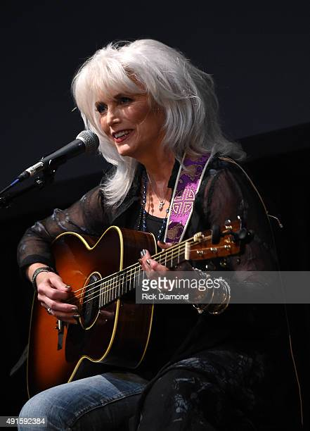 Emmylou Harris performs onstage at The Country Music Hall Of Fame & Museum All For The Hall New York Benefit Concert at PlayStation Theater on...