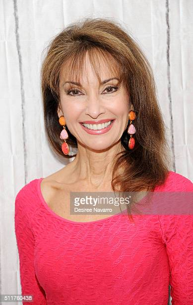 Emmywinning daytime TV star Susan Lucci from 'All MY Children' discusses her 4th season of 'Devious Maids' during AOL Build Speaker Series at AOL...