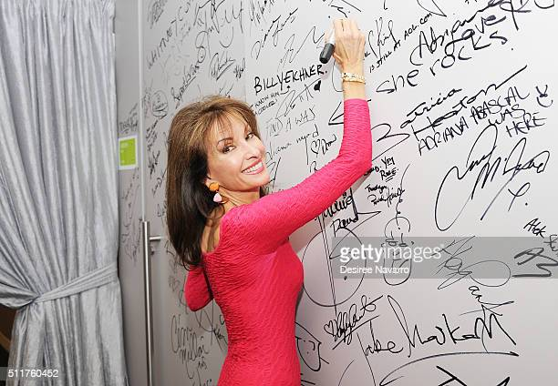Emmywinning daytime TV star Susan Lucci from 'All MY Children' discusses her 4th season of Devious Maids during AOL Build Speaker Series at AOL...
