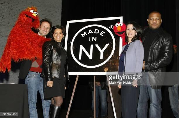 Emmy-winning writer, puppeteer, director Joey Mazzarino, Performer for Maria, Emmy-winning writer Sonia Manzano, Commissioner of the New York City...