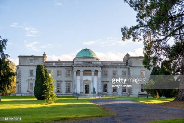 emo court from formal gardens - emo stock pictures, royalty-free photos & images