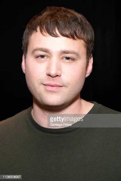 Emory Cohen attends 'Lords of Choas' press day at Vice Studios on February 08 2019 in Brooklyn New York