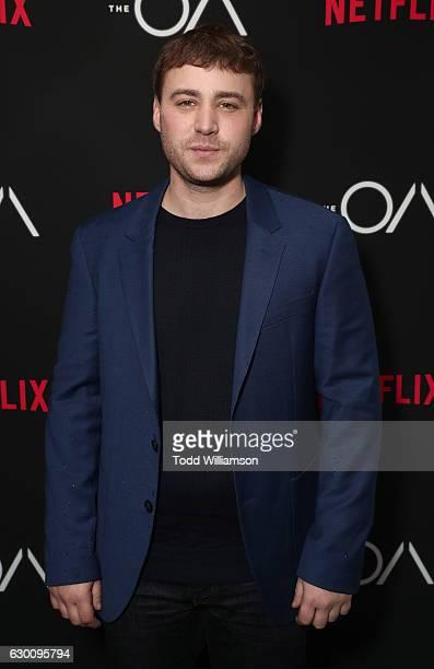 Emory Cohen attends the premiere of Netflix's The OA at the Vista Theatre on December 15 2016 in Los Angeles California