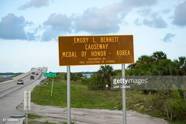 Emory L. Bennett Causeway in Florida
