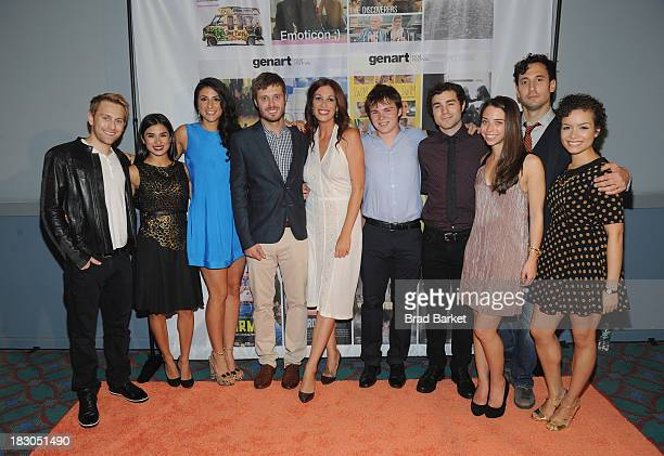 Emoticon cast and crew Director Julian Ungano Diane Guerrero Danelle Eliav Alex Disenhof Director Livia De Paolis Miles Chandler Charlie Solis Alyson...