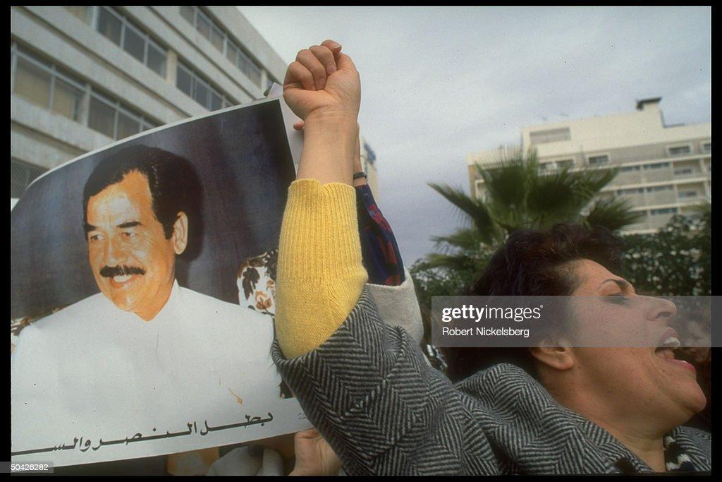 Saddam Hussein Takriti [Misc.] : News Photo