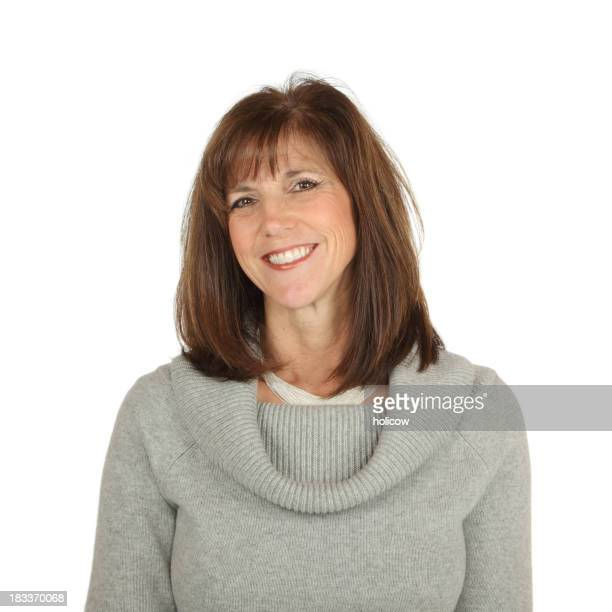 Emotions Mature Woman Smiling