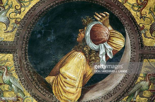 Empedocles, fresco from 1499-1502 by Luca Signorelli , St Britius chapel, Orvieto cathedral, Umbria. Italy, 13th-19th century.