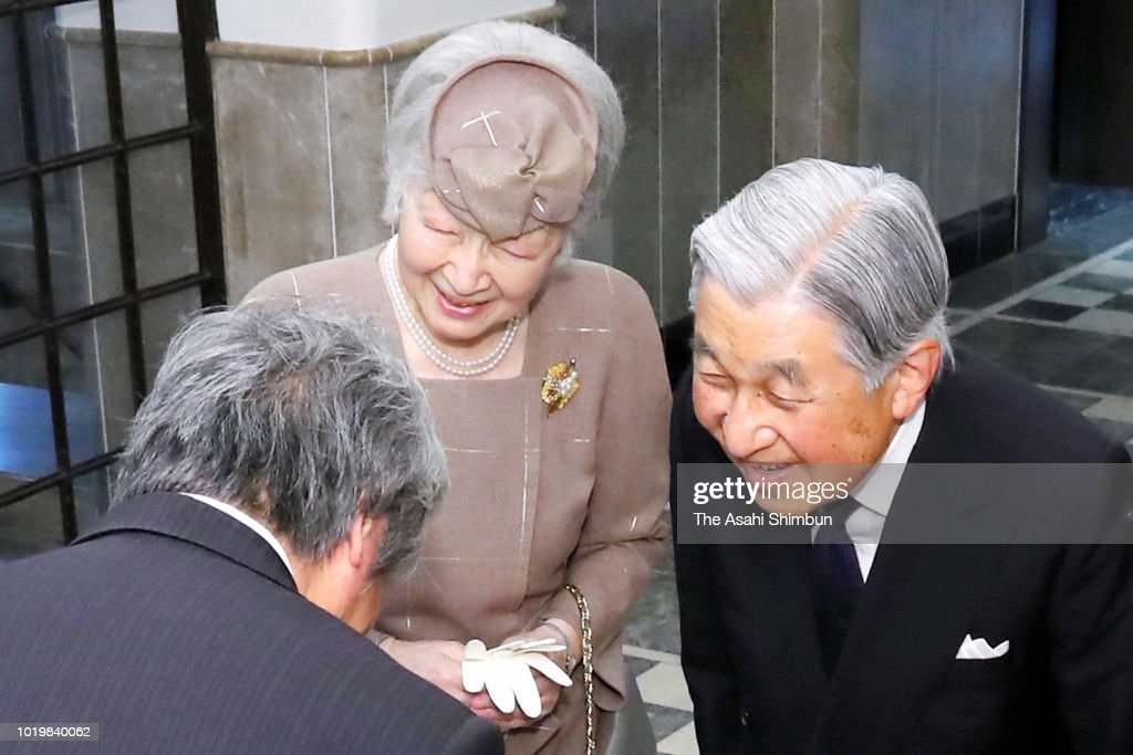 Emperor And Empress Attend International Academy for Production Engineering General Assembly : News Photo