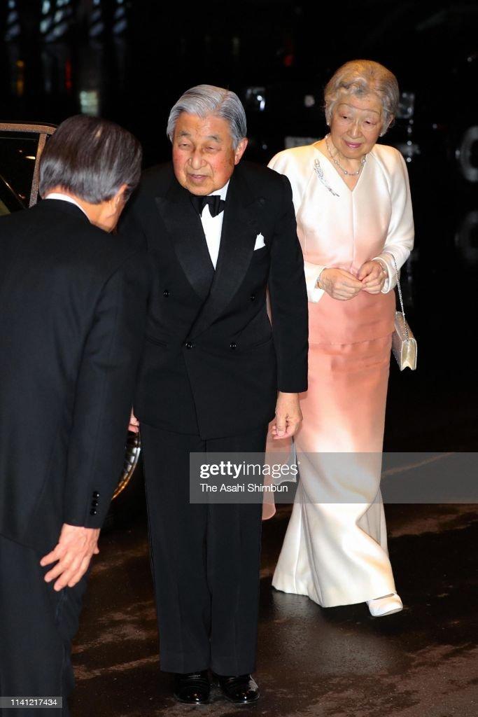 JPN: Emperor And Empress Attend Japan Prize Award Ceremony