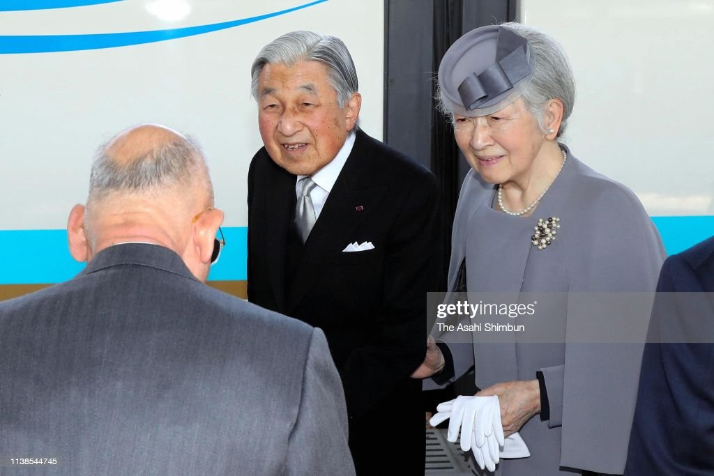 Emperor And Empress Visit Kyoto And Nara - Day 2 : News Photo